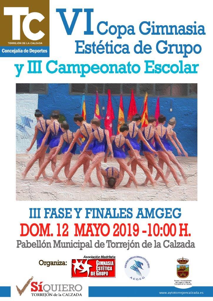Cartel III FASE Y FINALES DE VI COPA DE AMGEG