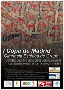 Cartel I Copa Madrid GEG (Senior)